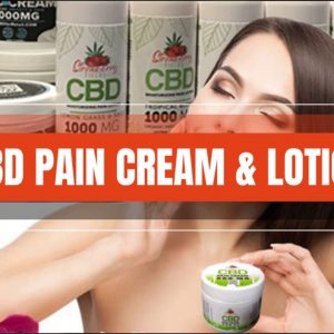 Natural Pain Relief Cream, Massage Lotion. Muscle Recovery CBD, fast acting  | CBD Headquarters