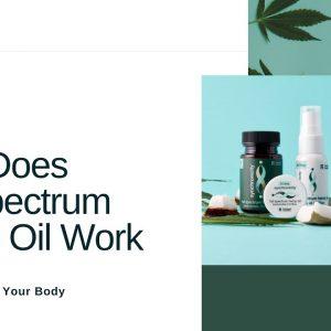 How Does Full-Spectrum Hemp Oil Work