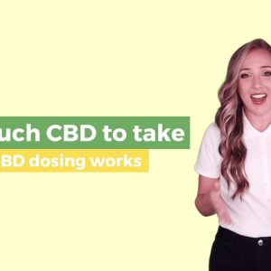 How Much CBD Should I Take? The Best Guide On How CBD Dosing Works!