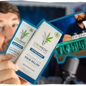 Is CBDMedic Active Sport REAL? I sent it to the lab. Plus CBD review.
