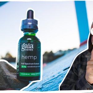 Is Gaia Herbs CBD Real? I sent it to a lab. Gaia Herbs CBD review.