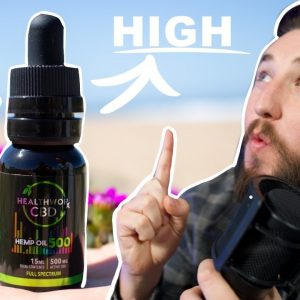 Is Healthworx CBD Real? I sent it to a lab. Plus review.