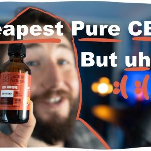 Is Lazarus Naturals CBD isolate REAL? See the LAB TESTS and CBD review.