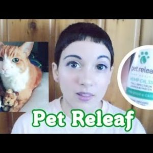 Pet Releaf CBD Oil for Pets REVIEW! Helped my senior cat stay comfortable