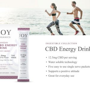 Educational Series (20 of 31): Joy Organics CBD Energy Drink