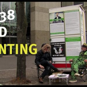Hans Kamperman Camps in Front of Parliament Until Cannabis Policy is Changed | Cannabis News Network