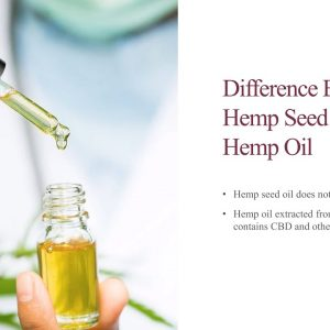 Educational Series (8 of 31): Difference Between Hemp Seed Oil and Hemp Oil